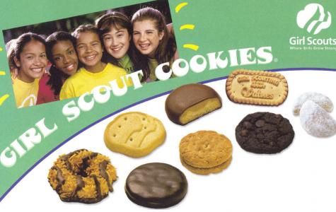 It is Girl Scout season