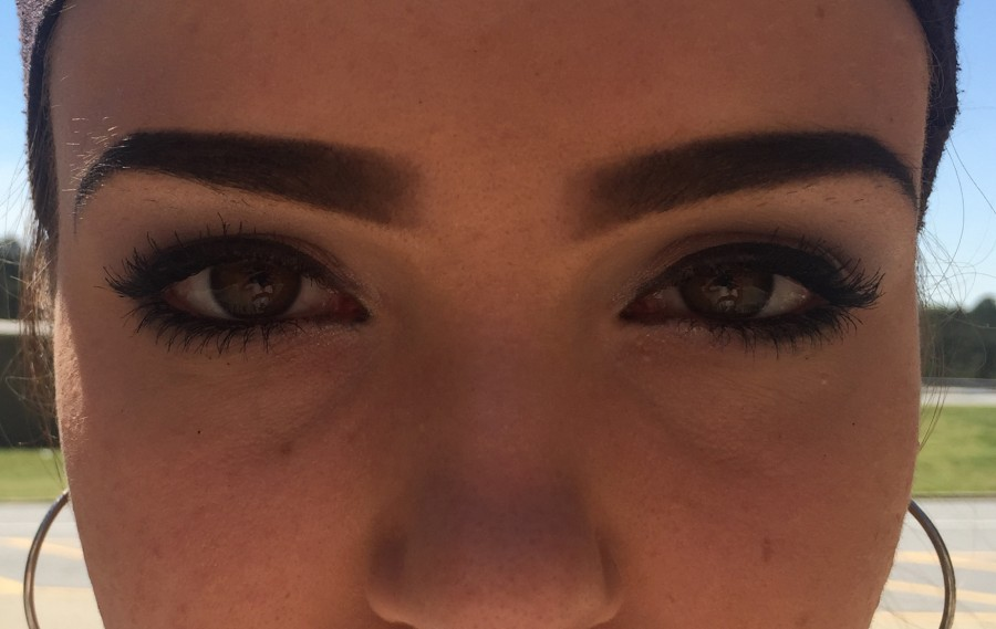 Raising filled eyebrows to the usage of makeup