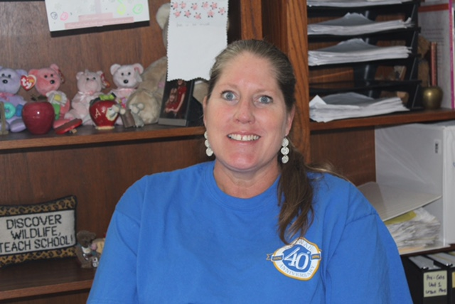 Julie Cassidy looks forward to every day here at Etowah.