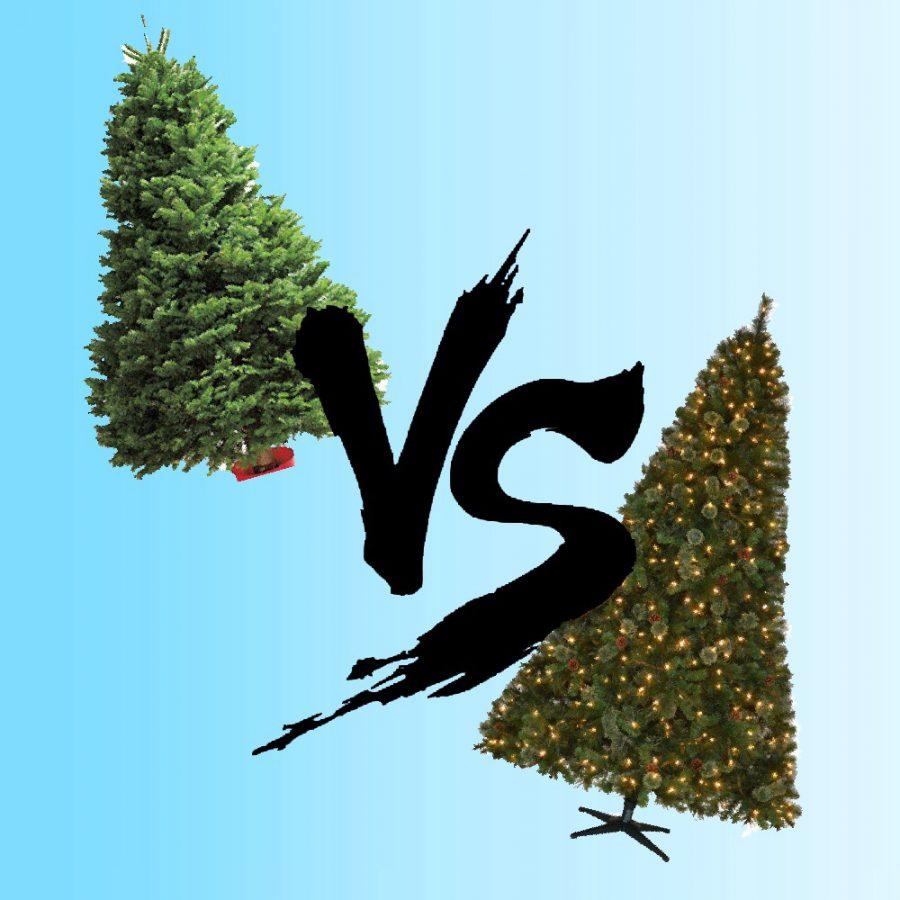 Fir or faux:  the great tree debate