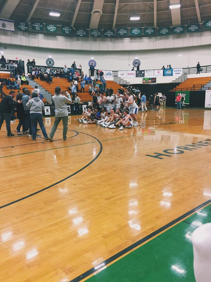 2/13/18- Our Etowah Eagle Basketball team won the Region Championship