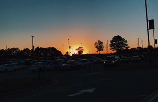 Sunrise on Eagle Mountain 11/16/17