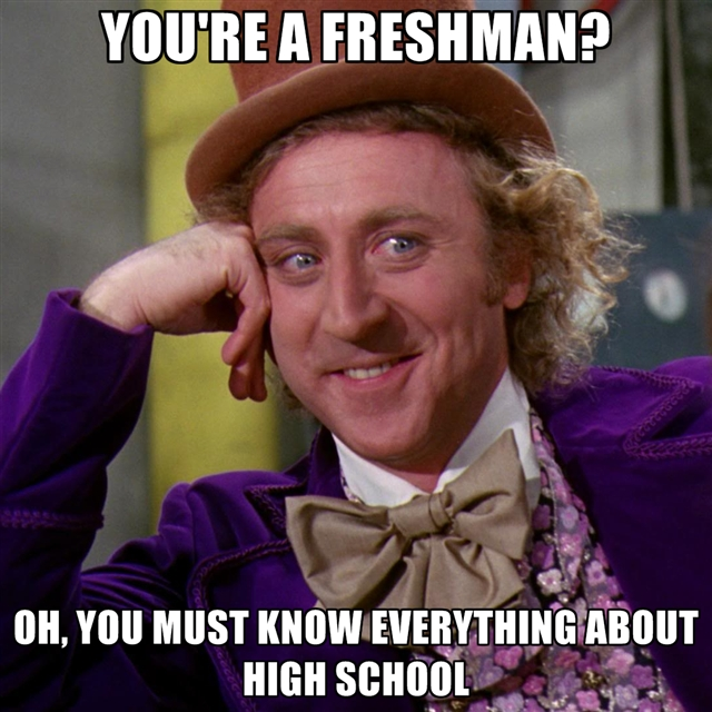 How to be the freshest freshman