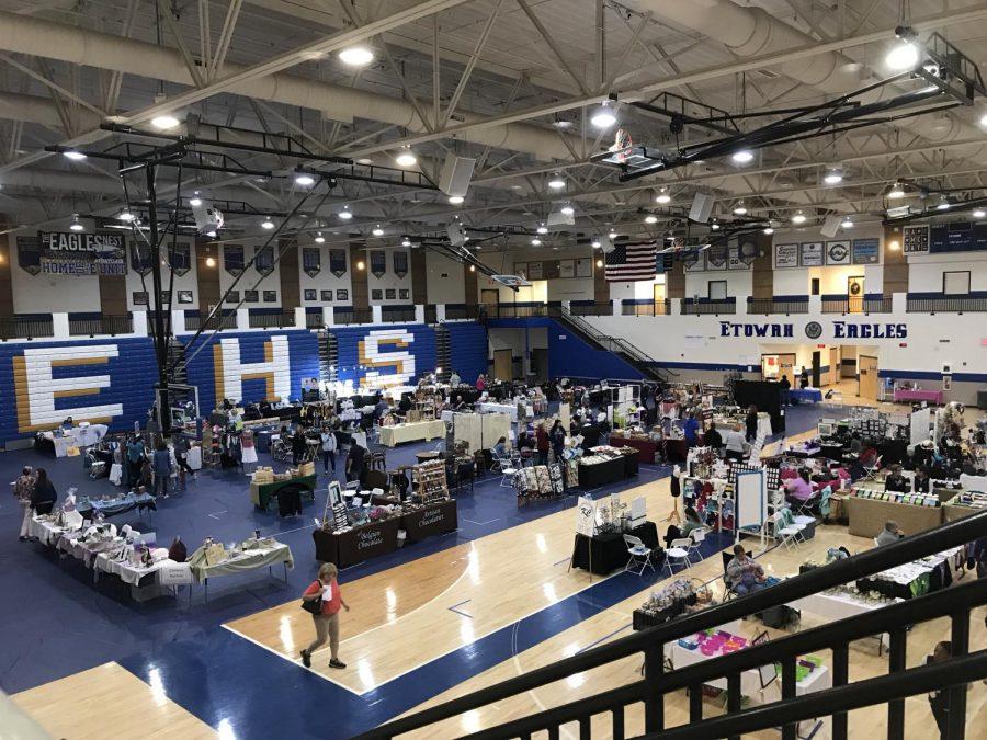 Softball fundraiser - arts and crafts fair