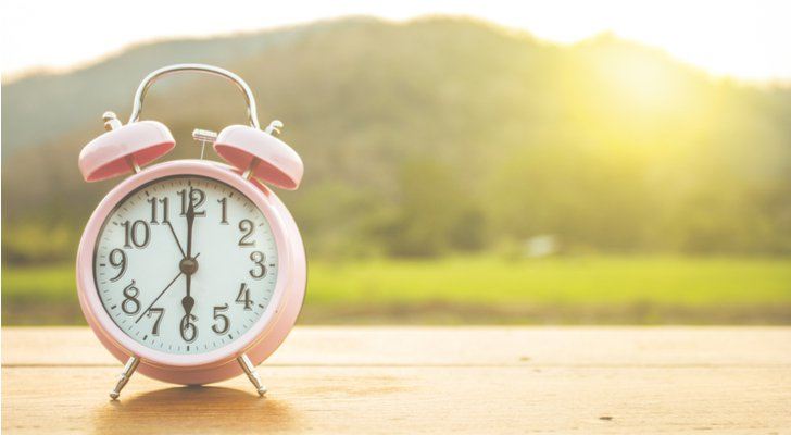 Spring forward into DST