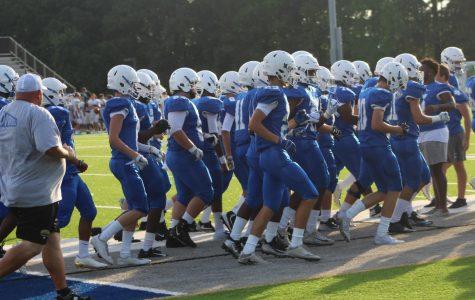 Soaring into the season: Varsity football