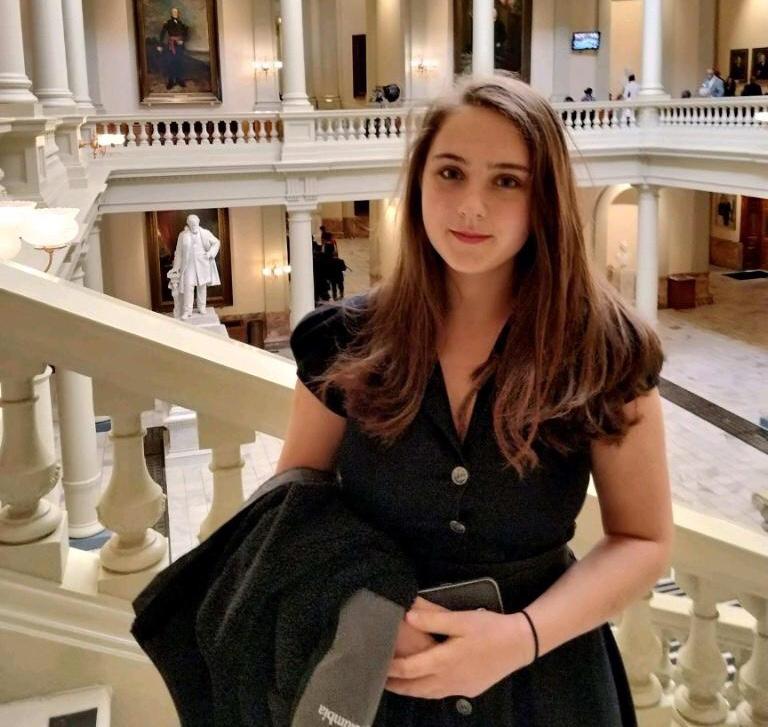 Sophomore: Sophia Stewart