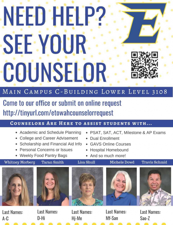 Counselors, students, teachers, oh my