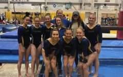 Gymnastics team flips into a new season