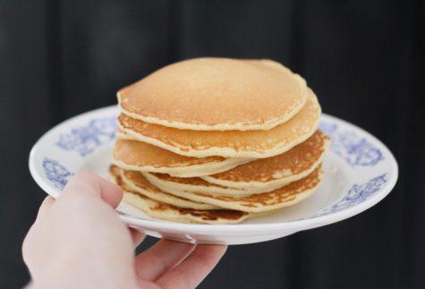 Free pancakes. I repeat: free pancakes