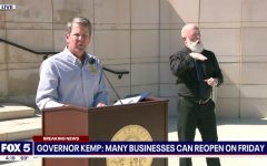 Kemp may be reopening businesses, but stay inside