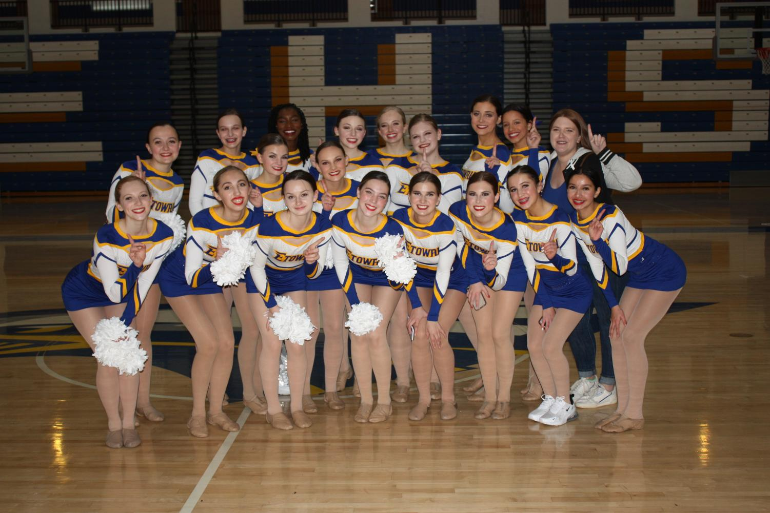 Dancing Eagles: soaring to state
