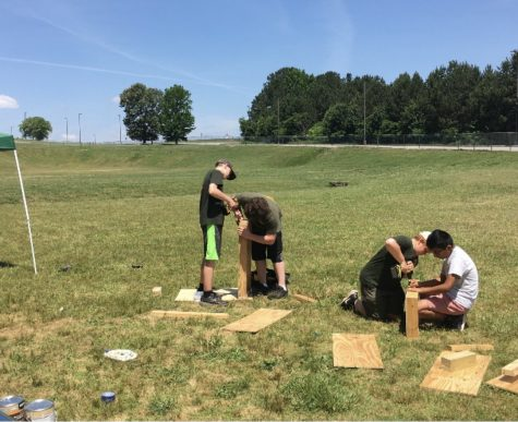 Eagle Scouts hatch at Etowah