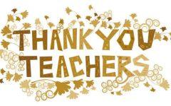 Thanks, teachers
